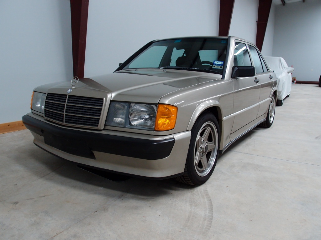 1985 mercedes benz 190e 2 3 16 amg three little letters for Mercedes benz make