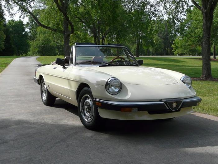 1985 Alfa Romeo Spider Graduate Last Of The Pod Cars on alfa romeo 2600