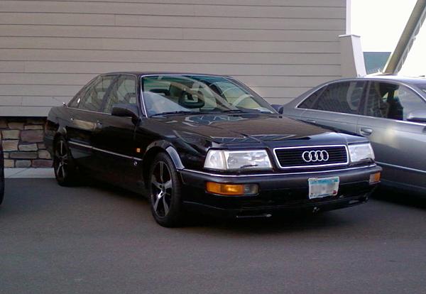 V Check Quattro Check Speed Totally That Stupid - Audi v8