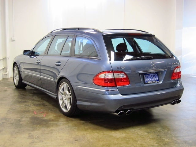Get one while the Gettin' is Good: 2006 Mercedes-Benz E55 AMG Wagon ...