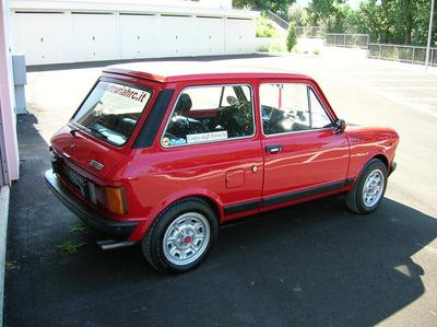 Minis For Breakfast 1978 Autobianchi Abarth A112