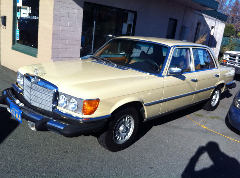 1978 Mercedes Benz 450sel Big Whole Lot Of Car For Cheap