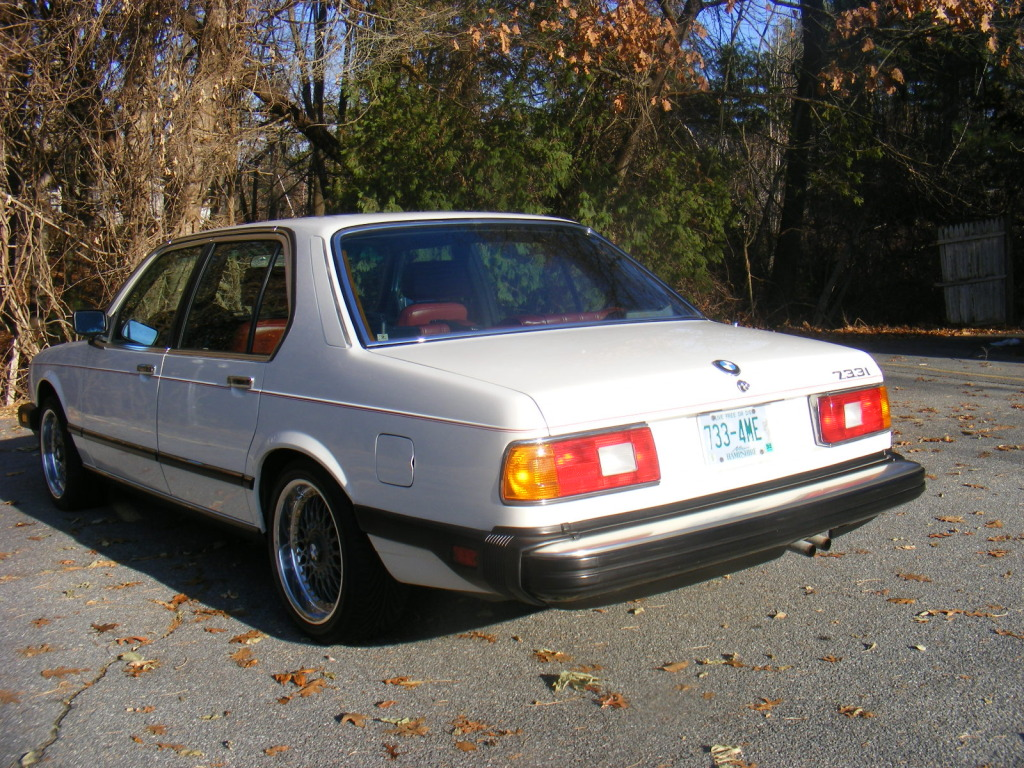 1983 Bmw E23 733i 5 Speed Teutonic Sports Barge Totally