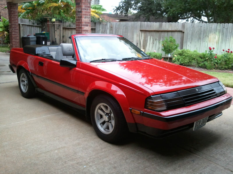 1984 Toyota Celica GTS Convertible: Rare, Especially in ...