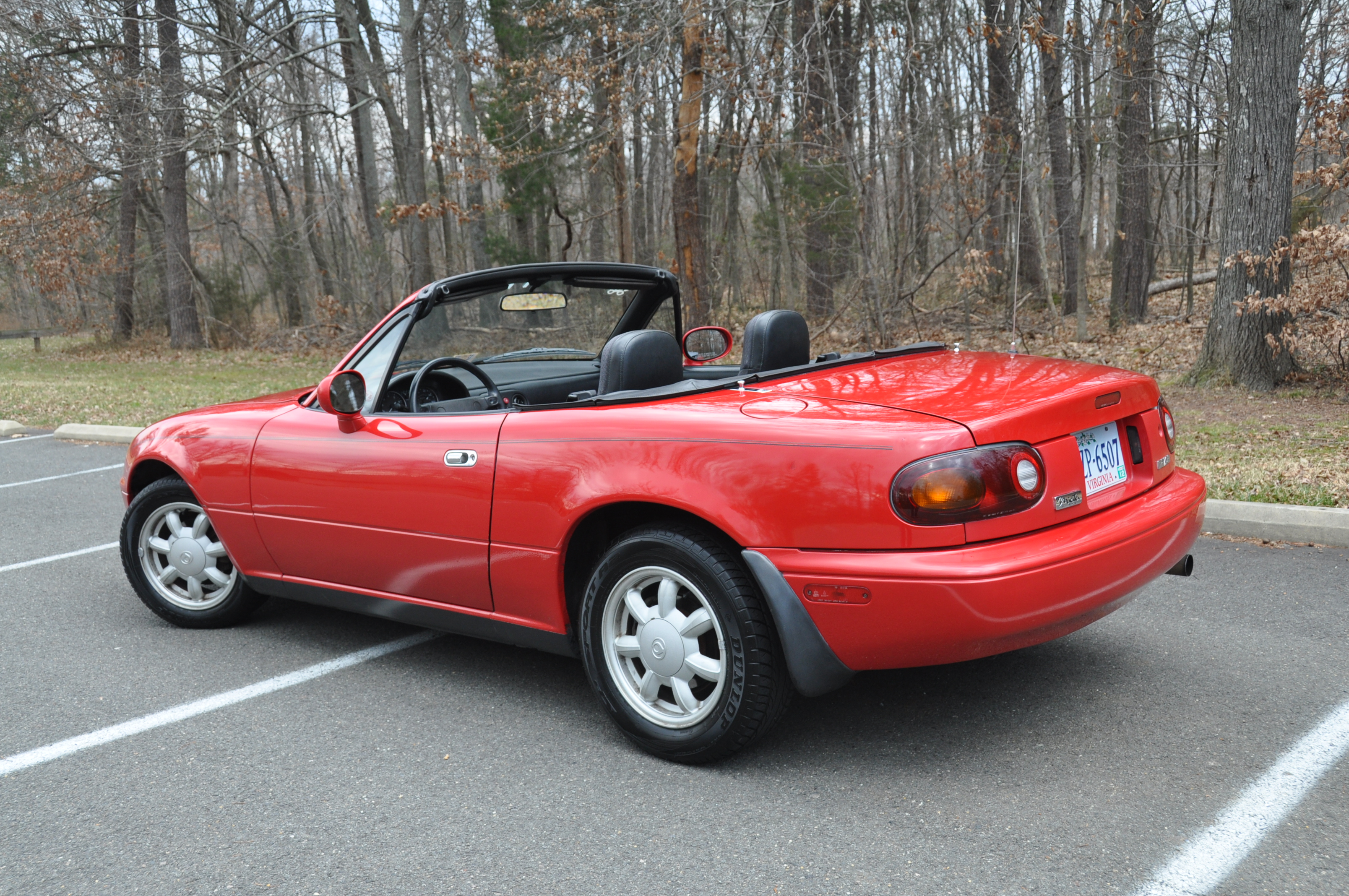 1993 mazda mx-5 miata: short attention-span theater | totally that