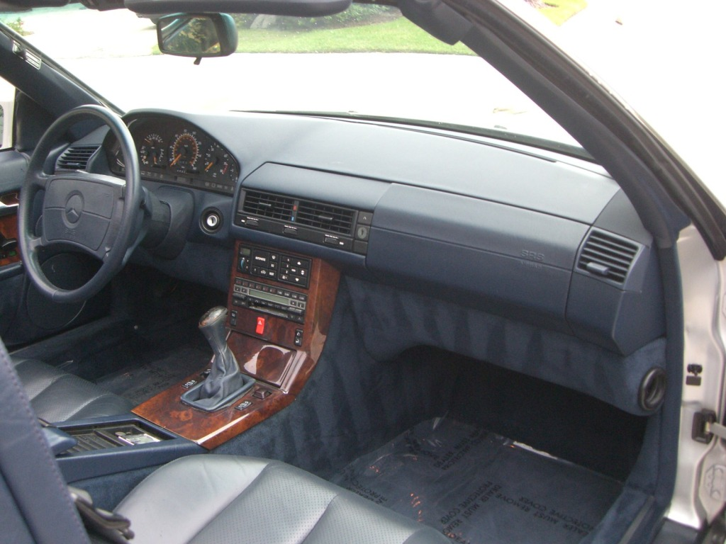 1991 mercedes benz 300sl 5 speed putting the sports for Mercedes benz manual transmission