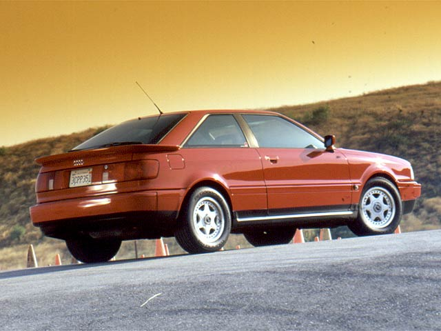 Next? 1990-91 Audi Coupe Quattro | Totally That Stupid