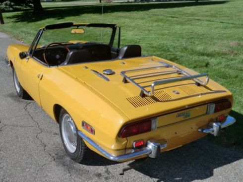 1970 fiat 850 spider uptick in values for clean survivors totally that stupid. Black Bedroom Furniture Sets. Home Design Ideas