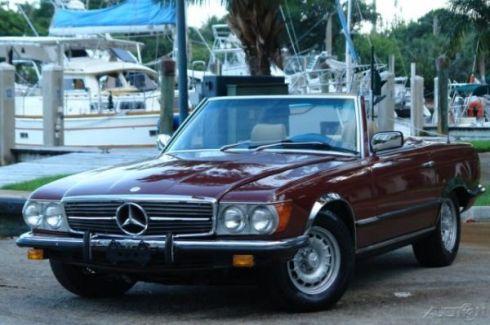 1983 Mercedes 280SL - 1