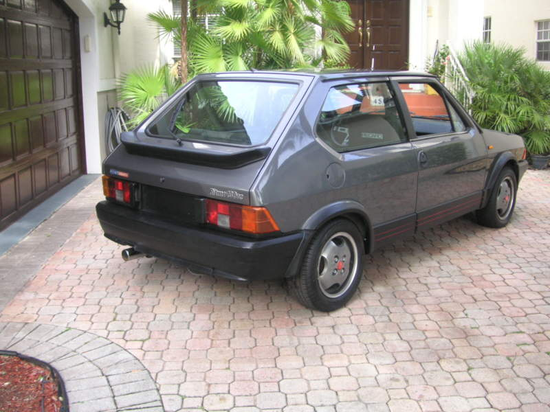 1983 fiat ritmo 130tc abarth for when the gti is just too ordinary totally that stupid. Black Bedroom Furniture Sets. Home Design Ideas