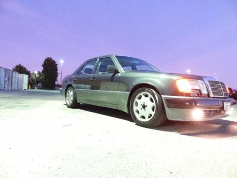 1992 Mercedes 500E - 1