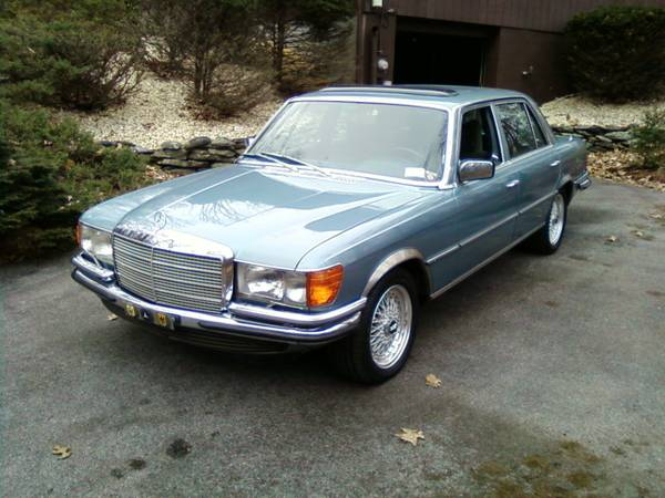 1979 Euro Spec Mercedes Benz 450sel 6 9 Luxobarge Or
