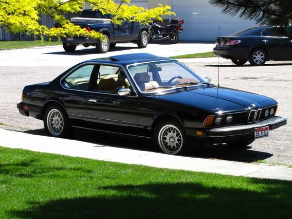 1982 Bmw 633csi Bavarian Shark Bargain In Boise Totally