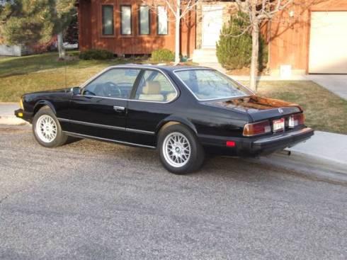 1982 BMW 633CSi - 2