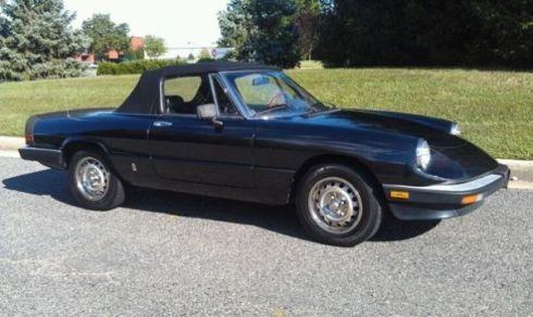 1985 Alfa Spider