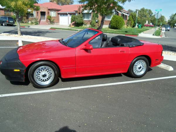 1990 Mazda RX7 Convertible