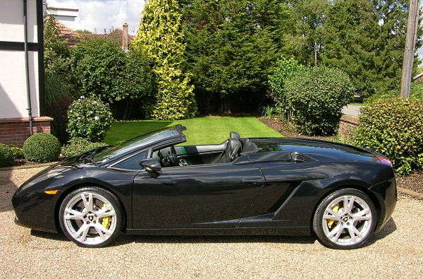 lamborghini gallardo spyder - Lamborghini Gallardo Spyder Black 2013