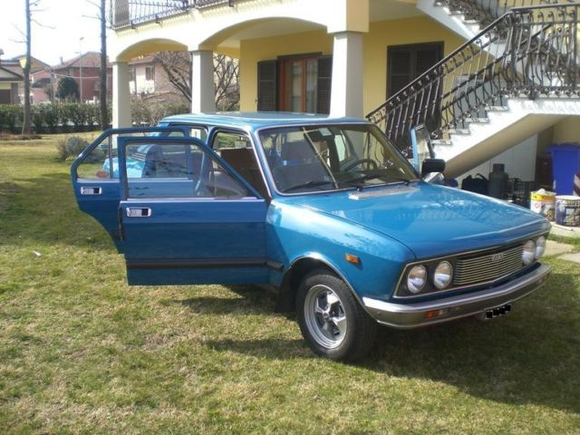 1977 Fiat 132 The Cars Of Our Fathers Totally That