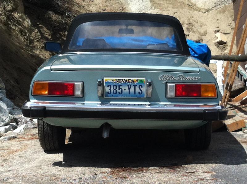 1982 Alfa Spider - 4