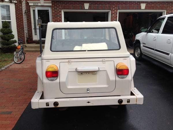 1974 VW Thing   2