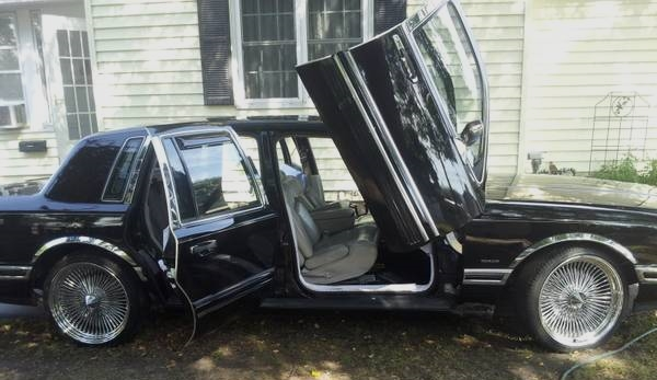1997 Lincoln Town Car Large Scale Justification Totally That Stupid