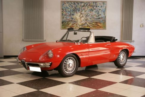 1966 Alfa Duetto - 1