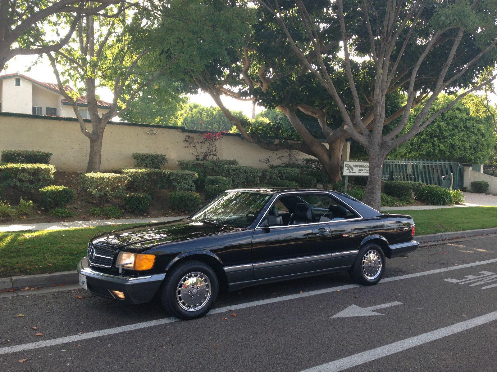 1991 mercedes benz 560sec pillarless pretty and for Mercedes benz torrance ca