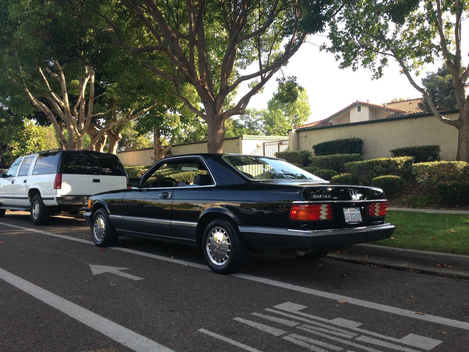 1991 Mercedes-Benz 560SEC - Pillarless, Pretty, and ...