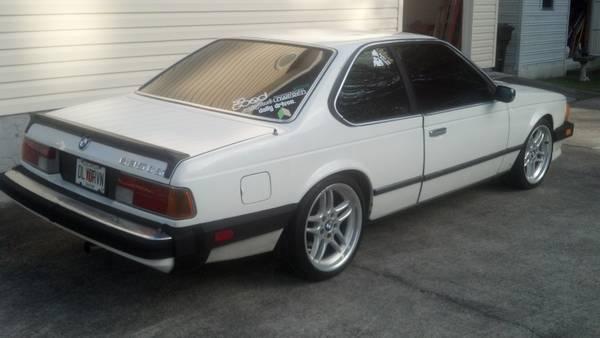 1985 635csi - 2