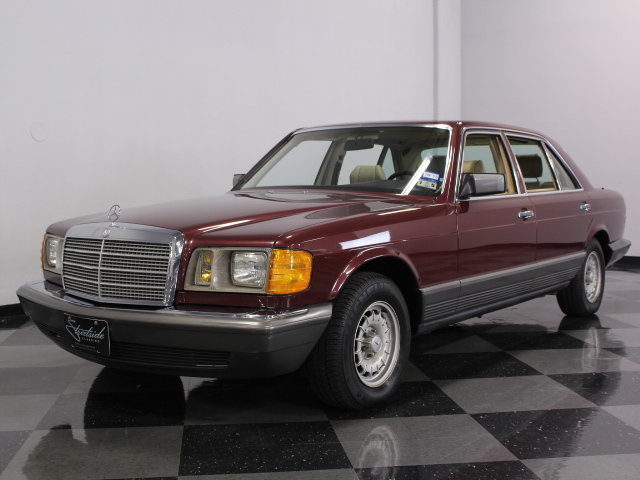 1985 mercedes benz 500sel resplendent in its four place for 1985 mercedes benz 500sel