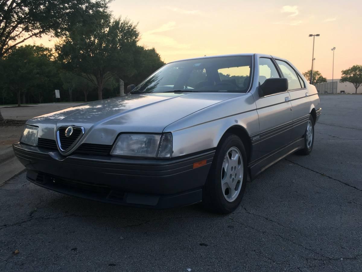 disposable sports sedan #1: 1991 alfa romeo 164 | totally that stupid