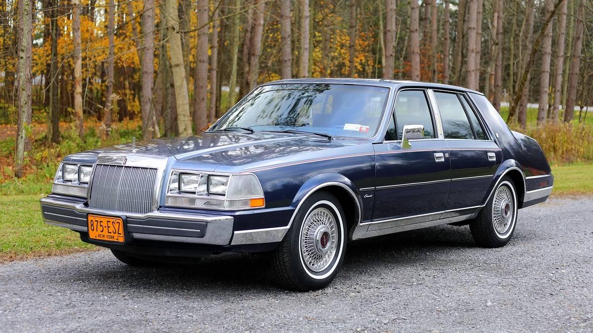 1984 Lincoln Conti - 1