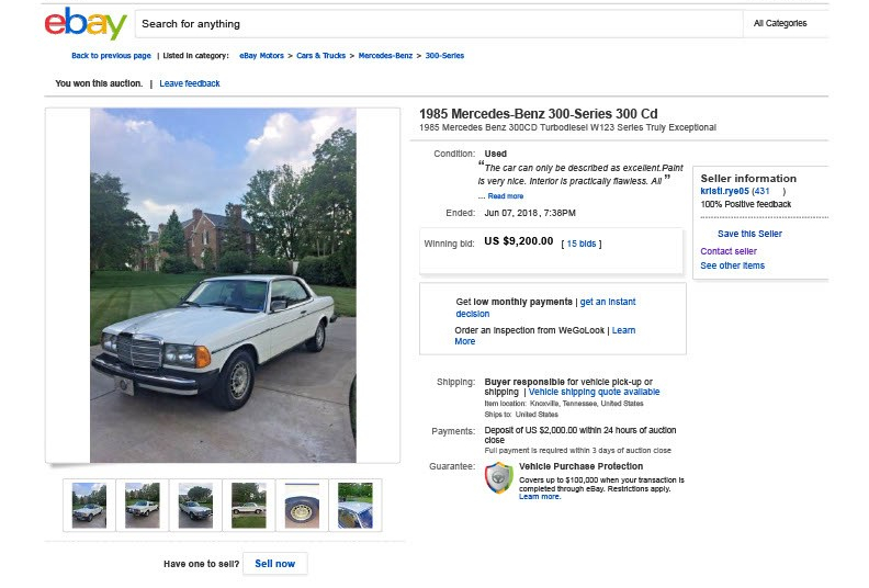 1985 Mercedes-Benz 300-Series 300 Cd _ eBay1024_1