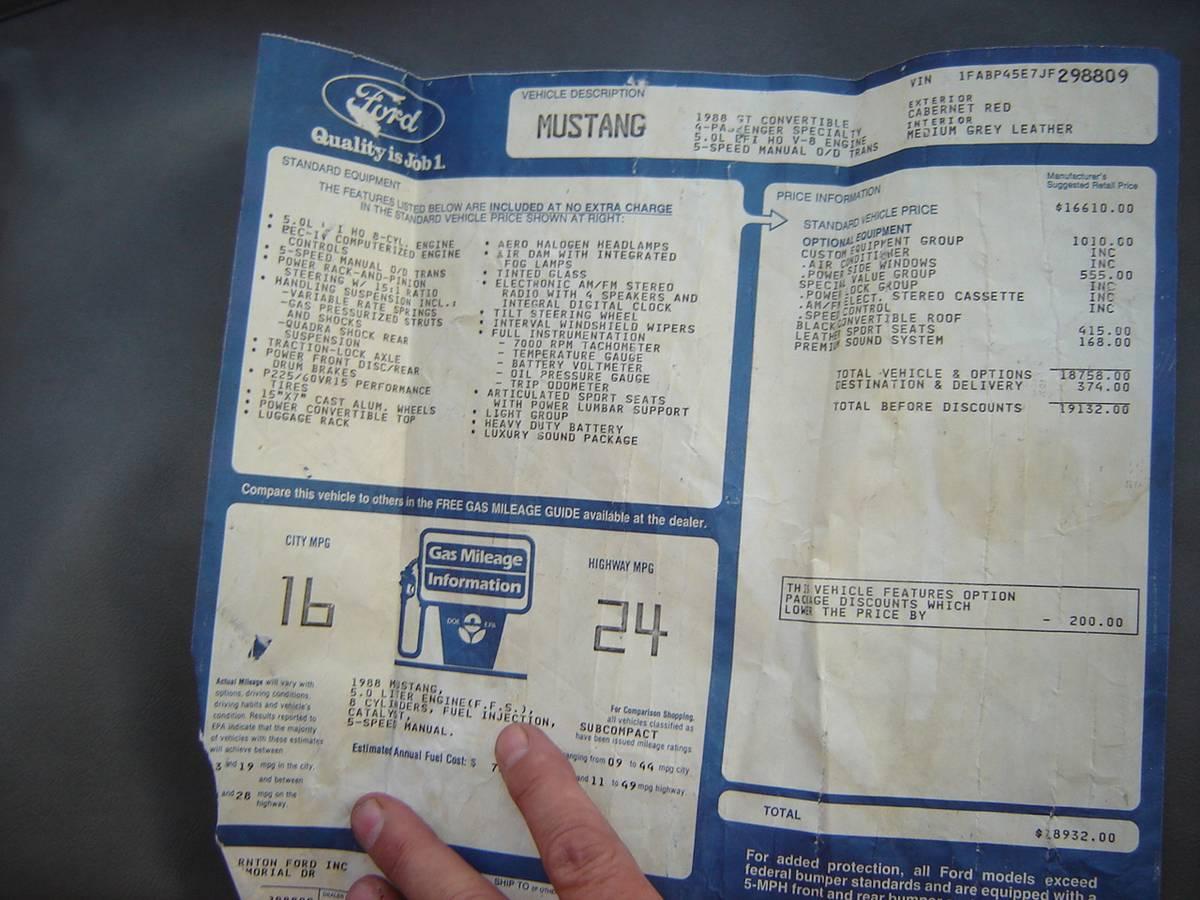 1988 GT - 4
