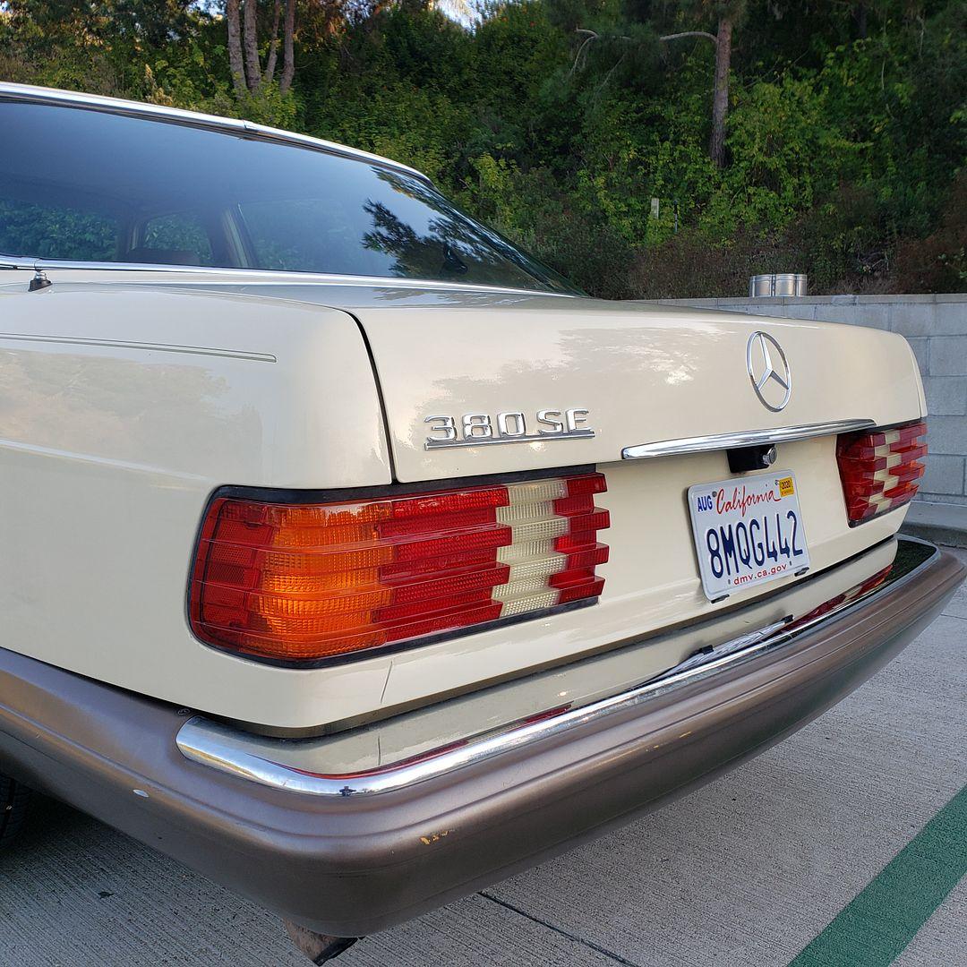 1985 380SE - 2